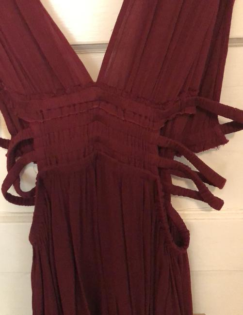 Free People short dress burgundy on Tradesy Image 2