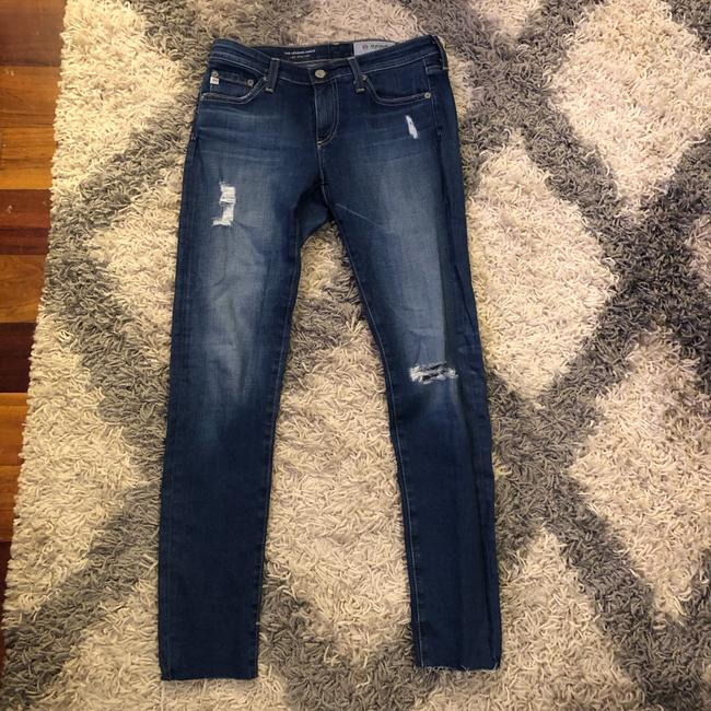 AG Adriano Goldschmied Skinny Jeans-Distressed Image 3