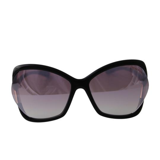 Tom Ford New Tf Astrid-02 Ft579 01z Women Violet Mirror Square Oversized Suns Image 4