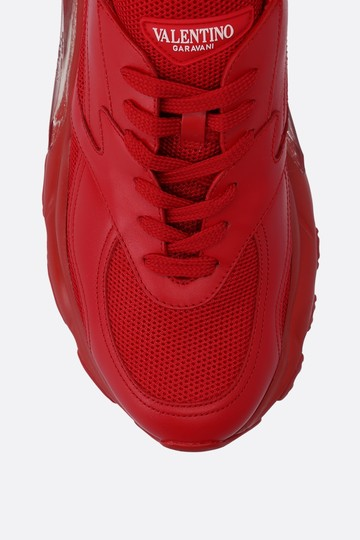 Valentino Sneakers Heels Pumps Red Athletic Image 3