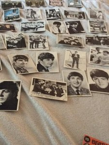 None Beatles collectible cards