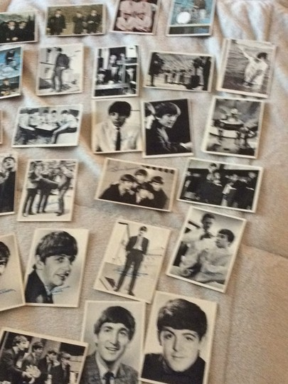 None Beatles collectible cards Image 1