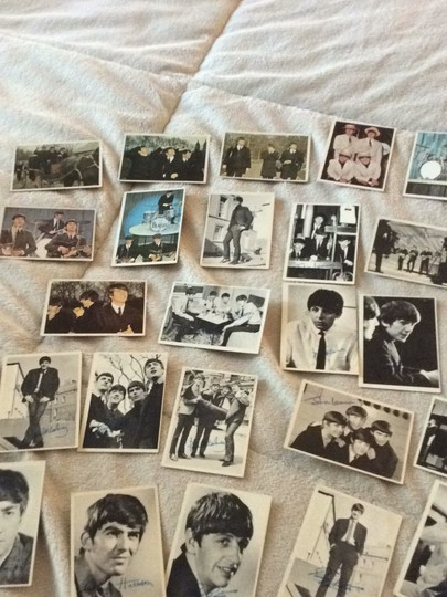 None Beatles collectible cards Image 3