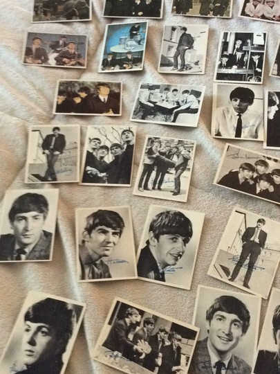 None Beatles collectible cards Image 5