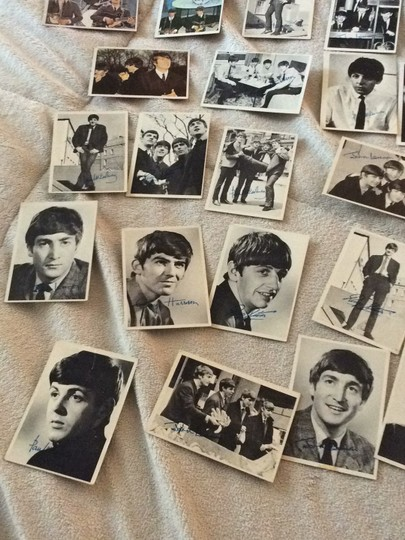 None Beatles collectible cards Image 6