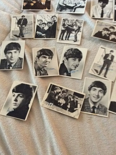 None Beatles collectible cards Image 7