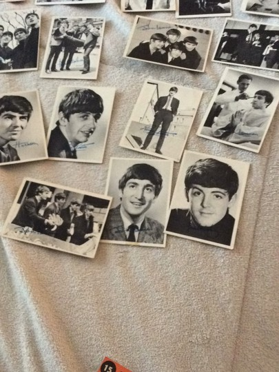 None Beatles collectible cards Image 8