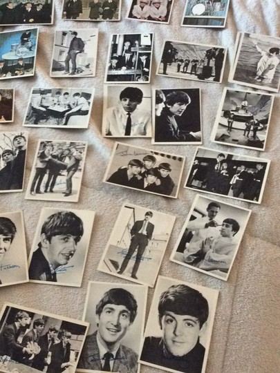 None Beatles collectible cards Image 9