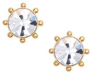 Kate Spade KATE SPADE CRYSTAL STONE BEZEL STUDS EARRINGS