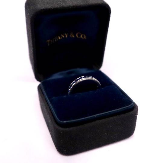 Tiffany & Co. Sapphire Round Eternity Band Width 3mm Image 5