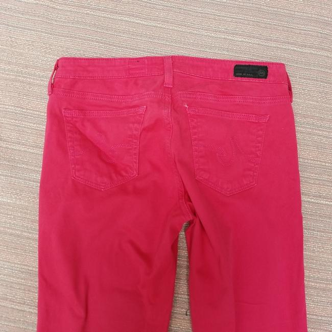 AG Adriano Goldschmied Stilt Straight Pants Pink Image 5