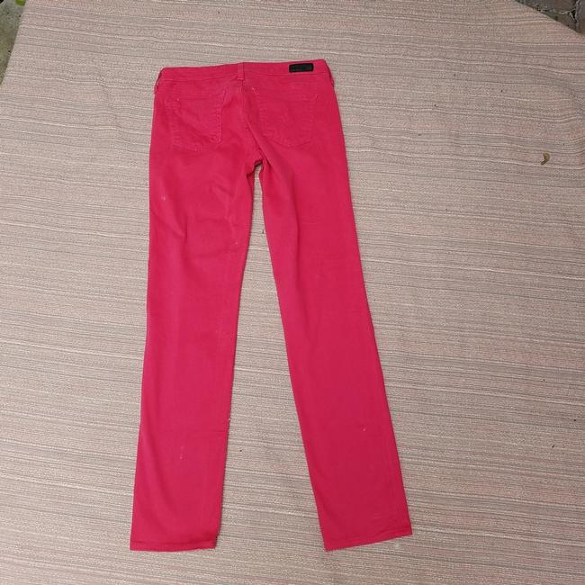 AG Adriano Goldschmied Stilt Straight Pants Pink Image 6