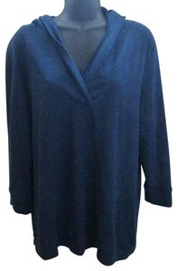 Faded Glory Thermal Fall Winter Warm Casual Top Blue