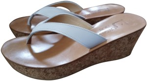 K. Jacques White natural Wedges