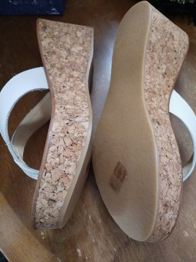 K. Jacques White natural Wedges Image 3