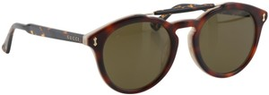 Gucci GUCCI GG0124SA 50mm Round Sunglasses