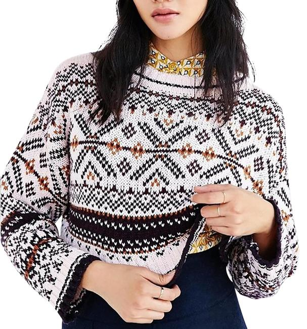 Preload https://img-static.tradesy.com/item/25538300/bdg-cropped-anna-knit-pink-multi-color-sweater-0-2-650-650.jpg