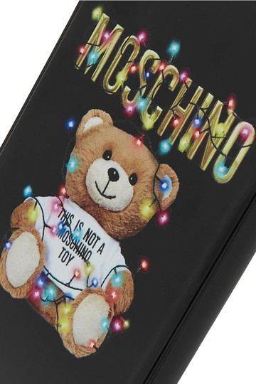 Moschino Printed silicone iPhone 6, 6S, 7 and 8 case Image 2