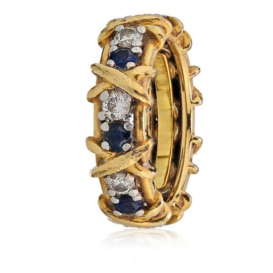 Preload https://img-static.tradesy.com/item/25538303/tiffany-and-co-yellow-gold-jean-schlumberger-emerald-diamond-18k-platinum-ring-0-0-540-540.jpg