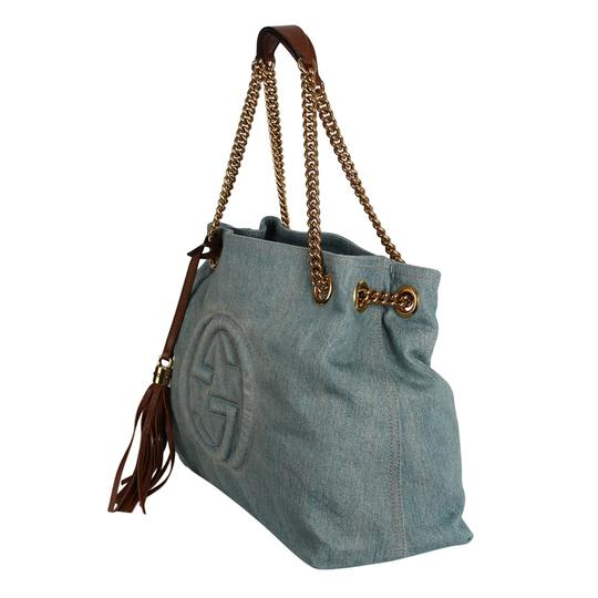 Gucci Gg Monogram Tassel Handbag Hobo Bag Image 4