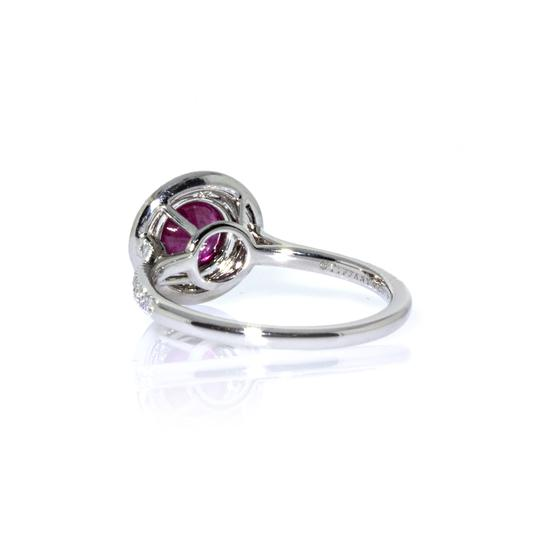 Tiffany & Co. Tiffany & Co. Platinum Soleste Diamond and Ruby Ring Image 3
