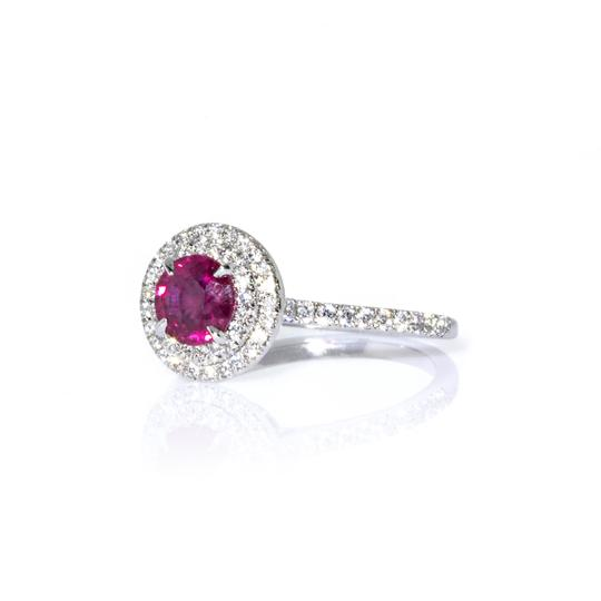Tiffany & Co. Tiffany & Co. Platinum Soleste Diamond and Ruby Ring Image 4