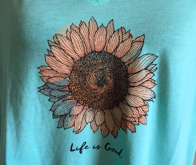 Life is Good T Shirt Image 1