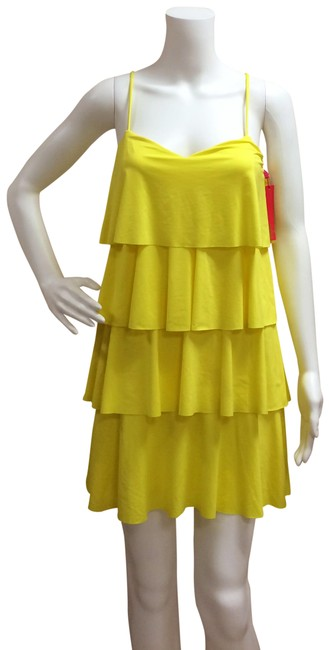 Item - Daffodil Ruffle Dress Cover-up/Sarong Size 6 (S)