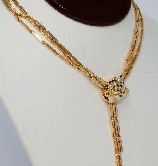 Cartier Panthere Head Diamond Lacquer Spots Strand Image 3
