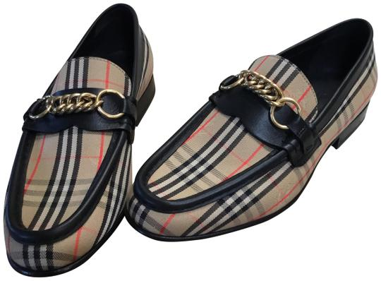 Preload https://img-static.tradesy.com/item/25539456/burberry-multicolor-moorley-chain-check-loafers-flats-size-eu-38-approx-us-8-narrow-aa-n-0-1-540-540.jpg