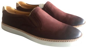 Sperry Slip On's Leather New Never Worn Brown Flats