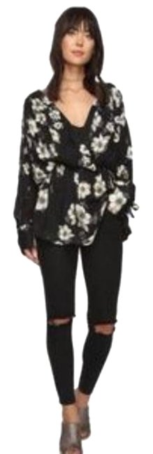 Item - Black Tucson Dreams Printed Tunic Size 4 (S)
