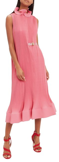Preload https://img-static.tradesy.com/item/25540352/tibi-pink-2019-best-seller-pleated-long-cocktail-dress-size-12-l-0-4-650-650.jpg