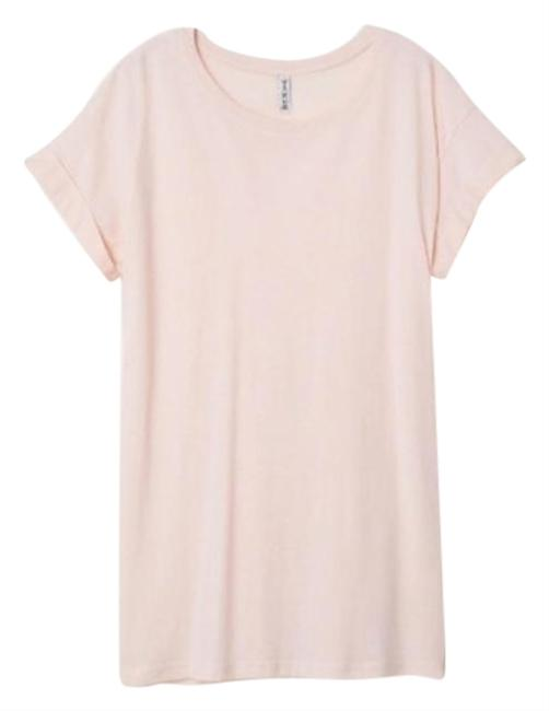 Item - Powder Pink Divided By Long Tee Shirt Size 4 (S)
