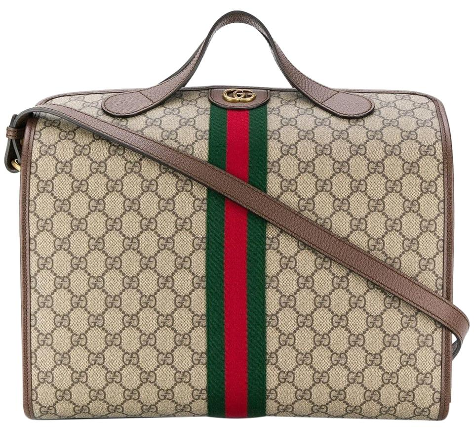 ab48073a9 Gucci Duffle Ophidia Tote Gg Supreme Canvas Weekend/Travel Bag - Tradesy