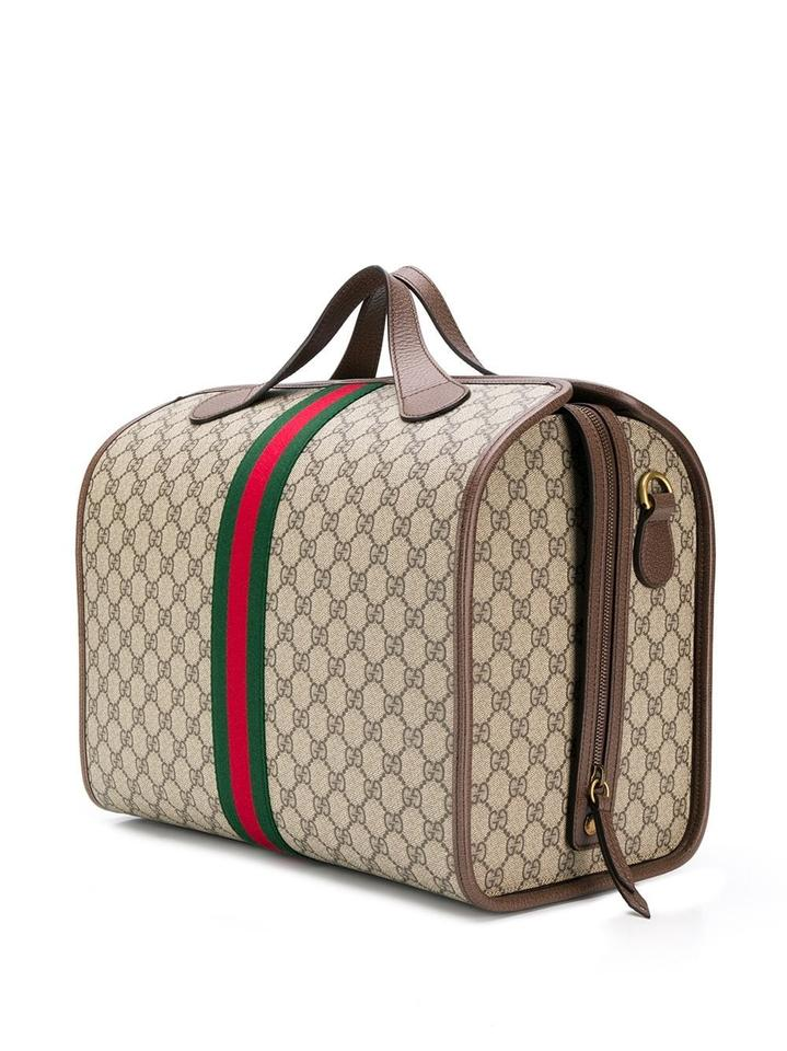 gucci duffle ophidia tote gg supreme canvas weekend travel