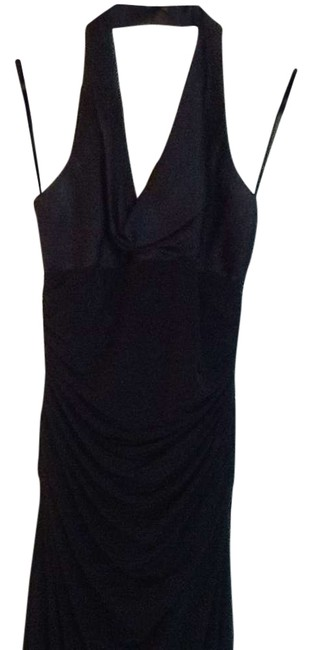 Laundry by Shelli Segal Halter Ruched Dress