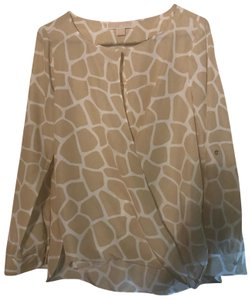 ee34ab02849118 Beige Michael Kors Tops - Up to 70% off a Tradesy