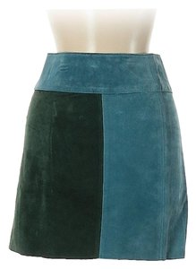 PJK Patterson J. Kincaid Mini Skirt green