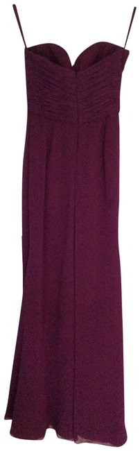 Item - Purple Elegant Evening Gown By Long Formal Dress Size 4 (S)
