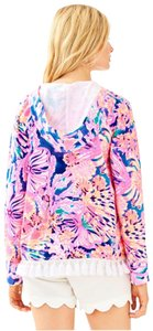 Lilly Pulitzer Harmon Hoodie - Swirling Seadream