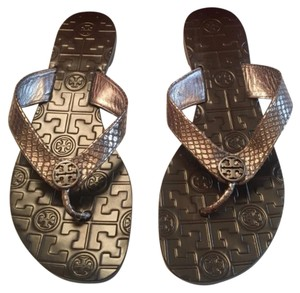 Tory Burch Pewter Grey Sandals