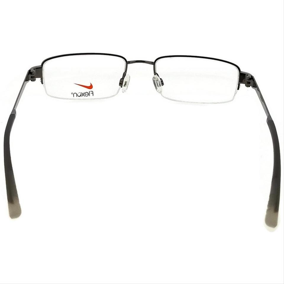 cf7861a36601 Nike Grey 4271-034-53 Rectangle Men's Frame Clear Lens Genuine ...