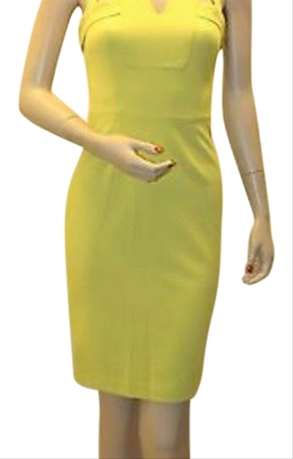 Item - Dark Lime Macie Zba6v488 Mid-length Night Out Dress Size 2 (XS)