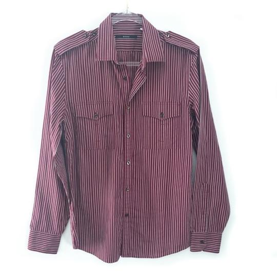 Preload https://img-static.tradesy.com/item/25542674/gucci-burgundy-men-s-striped-dress-shirt-groomsman-gift-0-0-540-540.jpg
