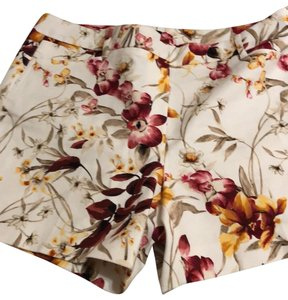White House | Black Market Dress Shorts floral