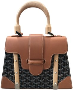 Goyard Saigon Satchel in Brown
