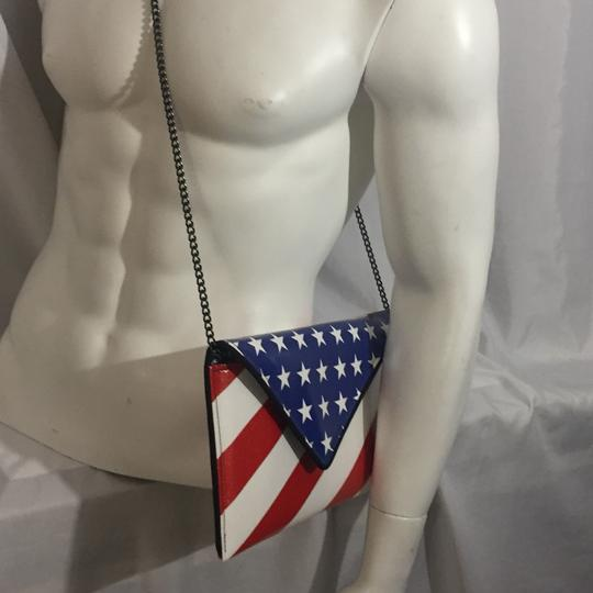 kent stetson red / white / blue Clutch Image 4