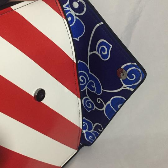kent stetson red / white / blue Clutch Image 8
