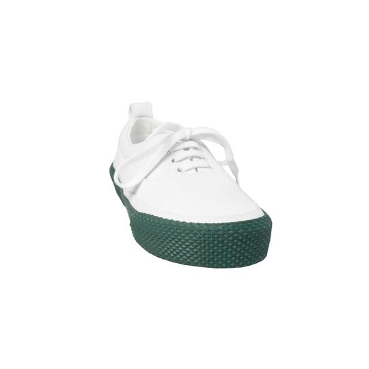Preload https://img-static.tradesy.com/item/25543332/celine-white-green-new-skate-canvas-lace-up-sneakers-size-eu-37-approx-us-7-regular-m-b-0-0-540-540.jpg
